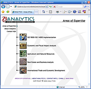 Analytics - Economics and Management Consulting