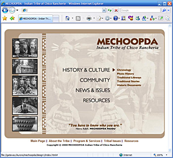 Mecchopda Indian Tribe